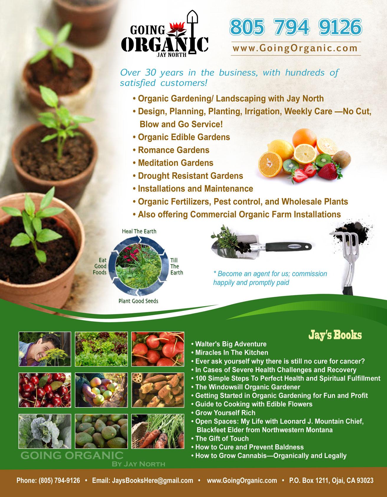 goingorganic com organic gardening made easy